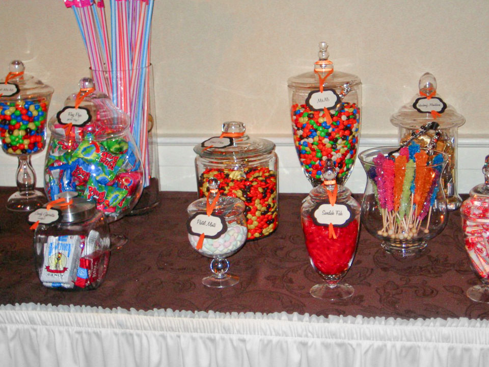 candy buffets everyday details nh event planner special events rh everydaydetails com candy buffet jars cheap candy jars for candy buffet