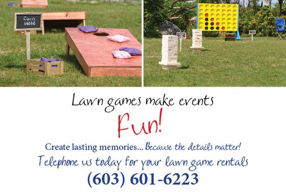 Lawn Game Rentals - NH, MA, ME
